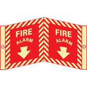 3D Glow Sign Acrylic - Fire Alarm
