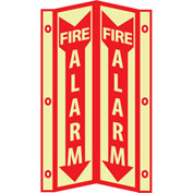3D Glow Sign Acrylic - 3D Fire Alarm