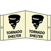 3D Glow Sign Acrylic - Tornado Shelter