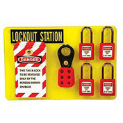 Lockout Station with Contents
