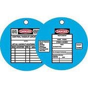 Lockout Tags - Tyvek Lockout Tag