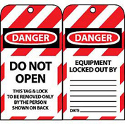 Lockout Tags - Do Not Open