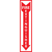 Fire Safety Sign - Fire Extinguisher - Aluminum
