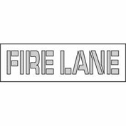 Parking Lot Stencil 22x4 - Fire Lane