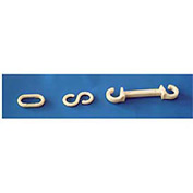 "Connecting S-Hooks - 1-1/2"" White"