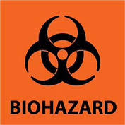 Graphic Safety Labels - Biohazard