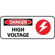 Pictorial OSHA Sign - Plastic - Danger High Voltage