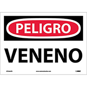 Spanish Vinyl Sign - Peligro Veneno