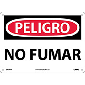 Spanish Aluminum Sign - Peligro No Fumar