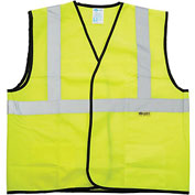 NMC SV7 Safety Vest, Lime with Silver Stripes, Size XL