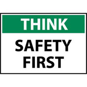 Think Osha 10x14 Vinyl - Safety First