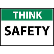 Think Osha 10x14 Vinyl - Safety