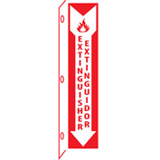 Fire Flange Sign - Bilingual - Extinguisher Extinor