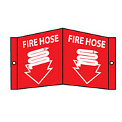 Fire Visi Sign - Fire Hose