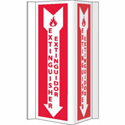 Fire Visi Sign - Bilingual - Fire Extinguisher Extinor