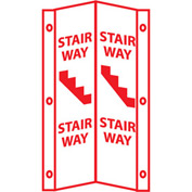 Fire Visi Sign - Stairway
