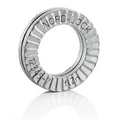 "Nord-Lock 1172 Wedge Locking Washer - 254 SMO Stainless Steel - M14 (9/16"") - Pkg of 100"