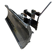 "Nordic Auto Plow Lightweight Rounded Edge 49"" Snow Plow: Lifted Frame EZ-GO Golf Carts - NAP-GEL3"