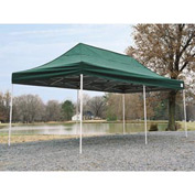 10x20 S T Popup Canopy - Green Cover w/Black Roller Bag