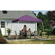 ShelterLogic, 22701, Sport Pop-up Canopy Slant Leg Cover 8 ft. x 8 ft. Purple