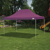 ShelterLogic 22704 Pop-up Canopy-Straight Leg, 10 x 15, Purple