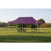 ShelterLogic, 22705, Pro Pop-up Canopy Straight Leg Cover 10 ft. x 20ft. Purple
