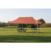 ShelterLogic, 22740, Pro Pop-up Canopy Straight Leg Cover 10 ft. x 20 ft. Terracotta