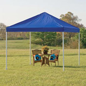 "Shelterlogic Celebration Canopy 25783, Decorative Series, 12'W X 12'L, 2"" Frame, 4-Leg, Blue"