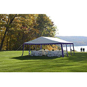 ShelterLogic, 25918, Party Tent 9-11/16 ft x 9-11/16 Blue/White