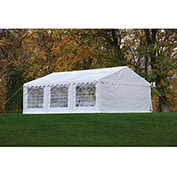 ShelterLogic, 25927, Enclosure Kit with Windows for Party Tent 19-5/8 x19-5/8 ft , White,