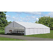 "ShelterLogic, 27780, 30 ft x50 ft Canopy Replacement Cover for 2-3/8"" Frame FR Rated White"