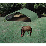 ShelterLogic, 58542, Equine Run-In Shed Peak-Style 22 ft. x 24 ft. x 13 ft.
