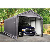 ShelterLogic, 62807, ShelterTube 12 x 25 x 11 ft. Peak Style Garage/Shelter- Gray