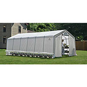 ShelterLogic, 70591, GrowIt Heavy Duty Walk-Thru Greenhouse Peak-Style 12 ft. x 24 ft. x 8 ft.