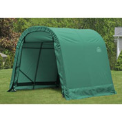 8x8x8 Round Style Shelter - Green