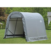 11x16x10 Round Style Shelter - Gray