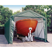 14x36x16 Peak Style Shelter - Green