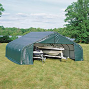 18x24x10 Peak Style Shelter - Green