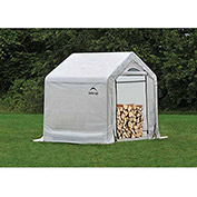 ShelterLogic, 90395, Firewood Seasoning Shed 5 x 3-1/2 x 5 ft.