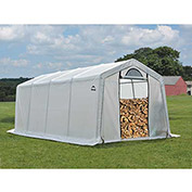 ShelterLogic, 90397, Firewood Seasoning Shed 10 x 20 x 8 ft.