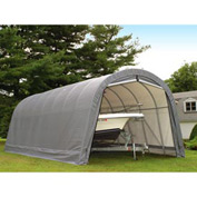 14x28x12 Round Style Shelter - Gray