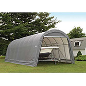 ShelterLogic, 95340, Round Style Shelter 14 x ft. 20 x ft. 12 ft. Gray