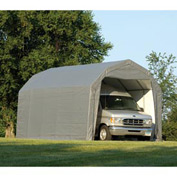 ShelterLogic Barn Style Shelter 12' x 28' x 9' Gray