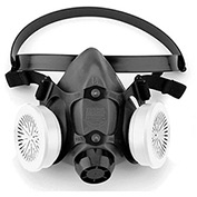 North by Honeywell 550030M, Low Maintenanace Half Mask Respirator