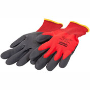 NorthFlex Red™ Foamed PVC Palm Coated Gloves, North Safety NF11/8M - Pkg Qty 12