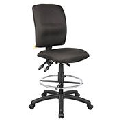 Boss Multifunction Drafting Stool - Fabric - Black