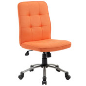 Boss Modern Office Chair - Fabric - Orange