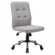 Boss Modern Linen Office Chair, Taupe