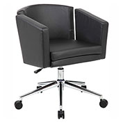 Boss Metro Club CaressoftPlus™ Desk Chair, Black