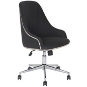 Boss Carnegie Desk Chair - Fabric - Black